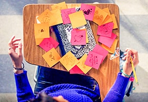 Back to School with Post-it® Brand: Love Note
